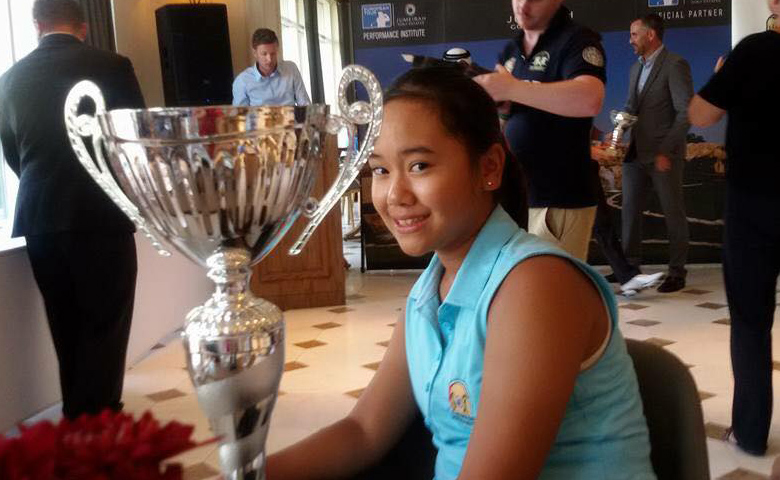 Nett Winner UAE Ladies Order of Merit 2015/2016 .... SAKURA!!